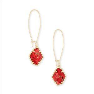 Kendra Scott Ellington Gold Drop Earrings